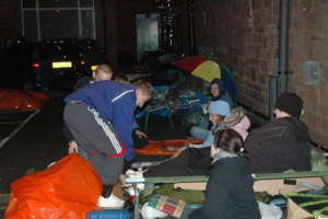 Sleep Out - 2nd December 2016